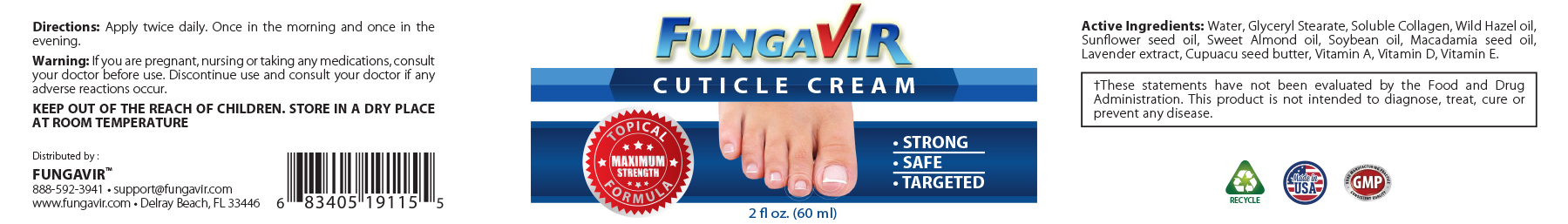 Fungavir™: The #1 nail Fungus Prevention And Support Supplement